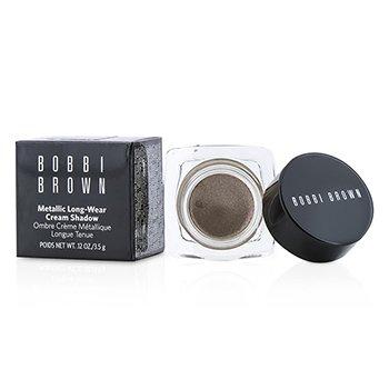 Bobbi Brown Fard de Ochi Cremos Persistent Metalic - # 04 Brown Metal  3.5g/0.12oz
