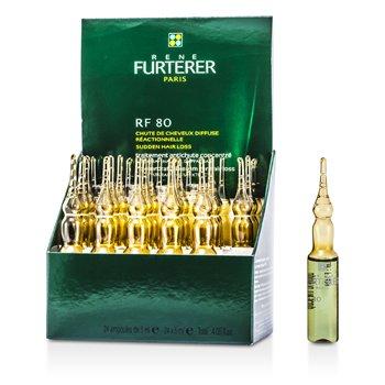 Rene Furterer Kuracja dla kobiet przeciw okresowemu wypadaniu włosów RF 80 Concentrated Thin Hair Program (Recommended for Women)  24x5ml/0.16oz