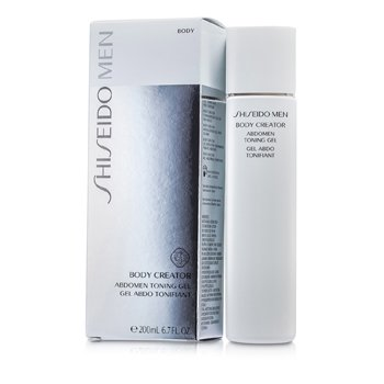 Shiseido Men Body Creator Gel Tonifiere Abdomen  200ml/6.7oz