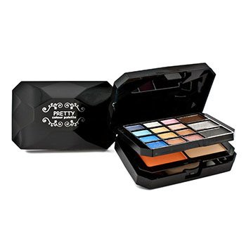 Pretty Color Palette No. M6012 (15x Eye Shadow + 1x Blush + 1x Powder + 3x Lip Color + 3x Applicator)  28g/0.98oz