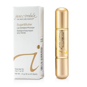 Jane Iredale Sugar & Butte Exfoliante Labial/ Reafirmante - Sugar & Butter  3g/0.1oz