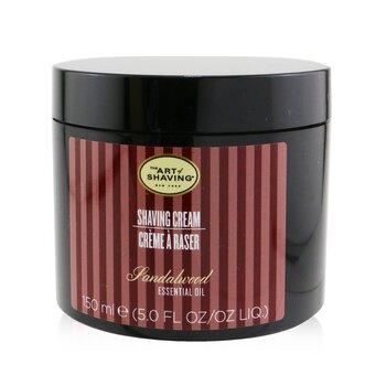 The Art Of Shaving Shaving Creme - madeira de sandalo Óleo essencial  150g/5.3oz