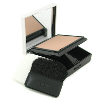 Benefit Hello Flawless! Custom Powder Cover Up For Face Alas Bedak SPF15 - # All The World's My Stage ( Beige )  7g/0.25oz