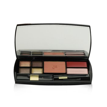 Lancome Tendre Voyage Makeup Palette: 4x Eye Shadow + Blush + 2x Lip Color + 3x Applicators