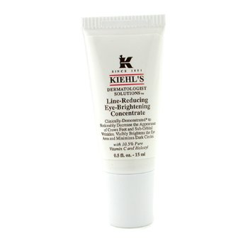 Kiehl's Dermatologist Solutions Line-Reducing Eye-Brightening Concentrado Iluminador Ojos  15ml/0.5oz
