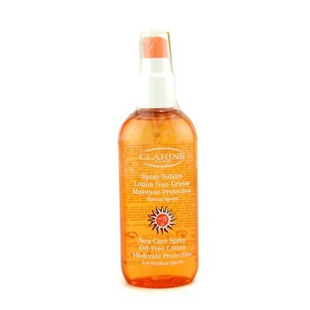 Clarins Sun Care Spray Oil-Free Lotion Progressive Tanning SPF 15 - For Outdoor Sports (Unboxed)  150ml/5.1oz