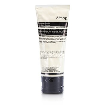 Aesop Creme exfoliante Purifying Facial Exfoliant Paste ( Tube )  75ml/2.91oz