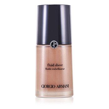 Giorgio Armani Fluid Sheer - Base Maquillaje Fluida  # 2 Shimmering Beige  30ml/1oz