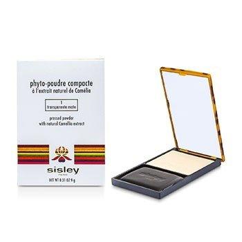 Sisley Phyto Poudre Compacte Pressed Powder - #1 Transparente Mate  9g/0.31oz