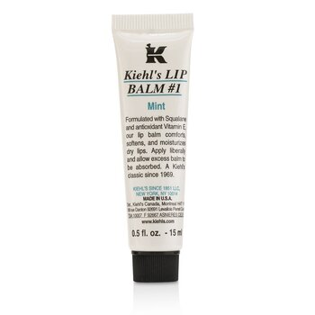 Kiehl's Lip Balm # 1 - Mint  15ml/0.5oz