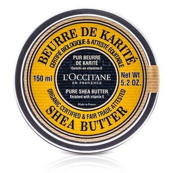 L'Occitane Organic Pure Manteiga de Karite  150ml/5.2oz