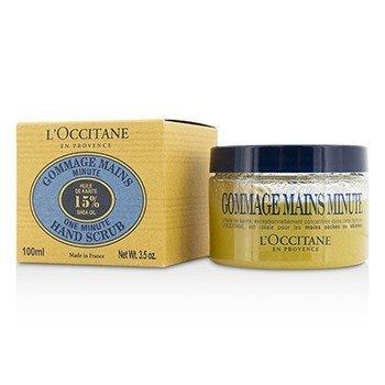 L'Occitane One Minute Hand Scrub  100ml/3.5oz