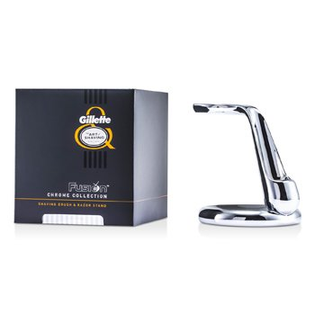 The Art Of Shaving Fusion Chrome Collection For Shaving Brocha & Sorporte de Afeitar  1pc