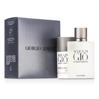 Giorgio Armani Acqua Di Gio Coffret: Eau De Toilette Spray 100ml/3.4oz + Deodorant Stick 75g/2.6oz  2pcs