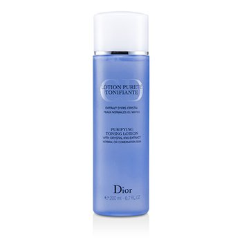Christian Dior لوسیون پاکسازی کننده و تقویت کننده (پوست های معمولی/مختلط)  200ml/6.7oz