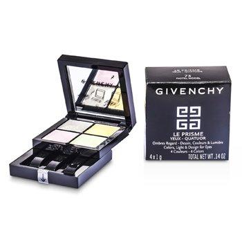 Givenchy Le Prisme Yeux Quatuor - Sombra de Ojos # 73 Pastel Model  4x1g/0.14oz