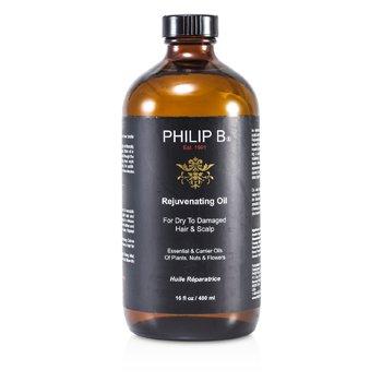 Philip B Aceite Rejuvenecedor ( Para Cabello Seco a Dañado y Cuero Cabelludo )  480ml/16oz