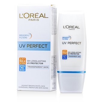L'Oreal Dermo-Expertise UV Perfect Larga Duraci�n UVA/UVB Protector SPF50 PA+++ - #Piel Transparente  30ml/1oz