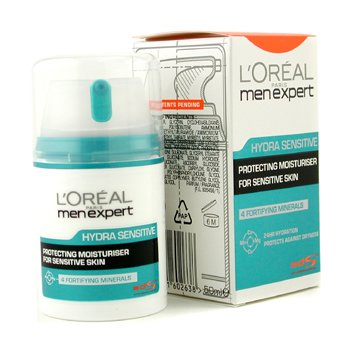 L'Oreal Men Expert Hydra Sensitive Koruyuculu 24 Saat Nemlendirici Krem  50ml/1.6oz