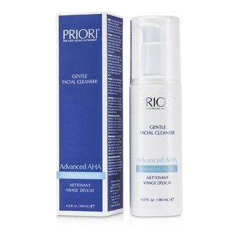Priori Advanced AHA Limpiador Facial Suave  180ml/6oz