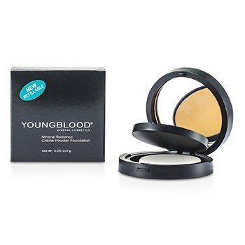 Youngblood Mineral Radiance Creme Powder Foundation - # Tawnee  7g/0.25oz