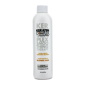 Keratin Complex Smoothing Therapy Natural Keratin Tratament Netezitor (Pentru Păr Blond)  237ml/8oz