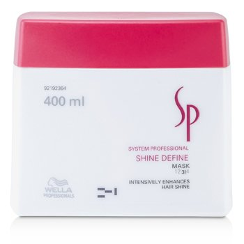 Wella SP Shine Define Mascarilla ( Mejora Brillo Cabello )    400ml/13.33oz