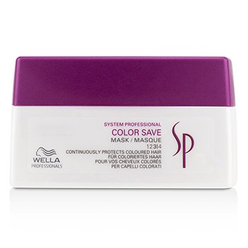 Wella Maska utrwalająca kolor do włosów farbowanych SP Color Save Mask (For Coloured Hair)  200ml/6.67oz