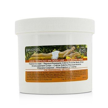 Pevonia Botanica Tropical Escape Papaya-Pineapple Creme Fraiche Wrap  1kg/34oz