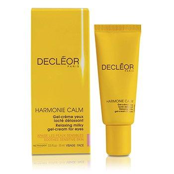 Decleor Harmonie Gel Crema Leche Calmante Relajante para Ojos  15ml/0.5oz