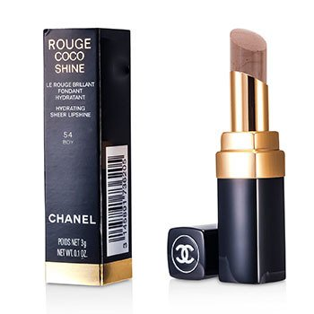 Chanel Pomadka nawilżająca Rouge Coco Shine Hydrating Sheer Lipshine - #54 Boy  3g/0.1oz