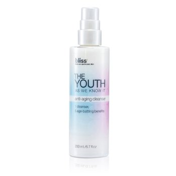 Bliss Loção de limpeza The Youth As We Know It Anti-Aging Cleanser  200ml/6.7oz