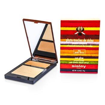 Sisley Phyto Touches de Sisley Sun Glow Pressed Powder - Duo Peche Doree  10g/0.34oz