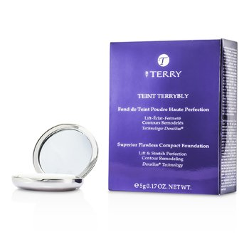 By Terry Teint Terrybly Superior Flawless Base Maquillaje Compacta- #4 Sunlight Amber  5g/0.17oz