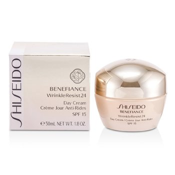 Shiseido Creme Benefiance WrinkleResist24 Day Cream SPF 15  50ml/1.8oz