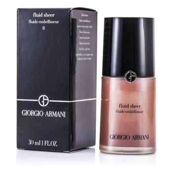 Giorgio Armani Fluido Transparente - # 11 Amber  30ml/1oz