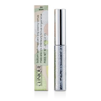 Clinique Řasenka na spodní řasy Bottom Lash Mascara - č. 01 Black  2ml/0.07oz