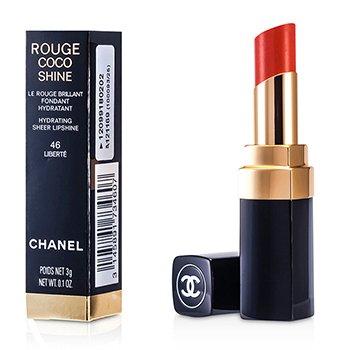 Chanel Rouge Coco Shine Hydrating Sheer Lipshine - # 46 Liberte  3g/0.1oz