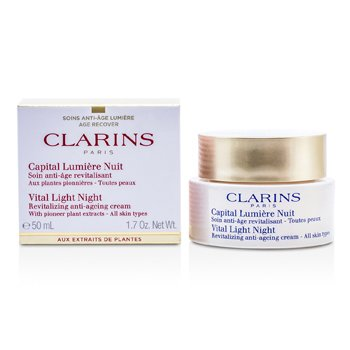 Clarins Vital Light Night Revitalizing Anti-Aging Cream  50ml/1.7oz