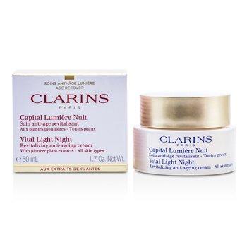 Clarins Vital Light Gece Canlandırıcı Yaşlanma Karşıtı Krem  50ml/1.7oz