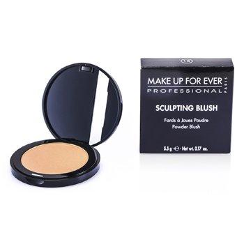 Make Up For Ever Sculpting Blush Powder Blush - #18 (Satin Light Peach)  5.5g/0.17oz