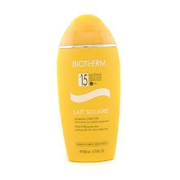 Biotherm Lait Solaire SPF 15 UVA/UVB Protection Melting Milk  200ml/6.76oz