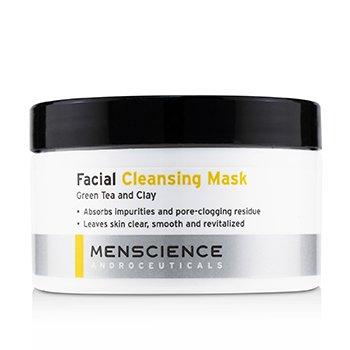 Menscience Очищающая Маска для Лица - Зеленый Чай и Глина  90g/3oz
