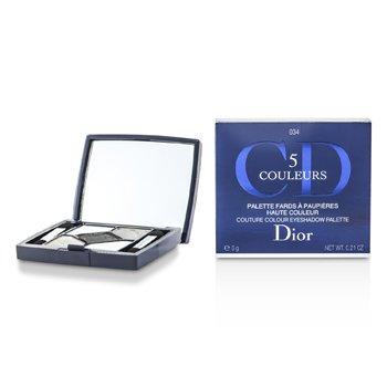 Christian Dior Estojo de sombra 5 Color Couture Colour - No. 034 Gris Gris  6g/0.21oz