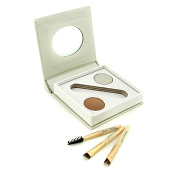 Jane Iredale Bitty Brow Kit - Blonde (1x Brow Powder, 1x Brow Wax, 3x Applicator)  2.4g/0.085oz