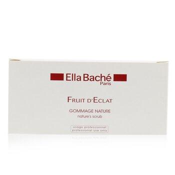Ella Bache Peeling do twarzy w saszetkach Nature's Scrub (duża pojemność)  10x5g/0.18oz