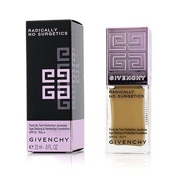 Givenchy Radically No Surgetics Age Defying & Perfecting Foundation SPF 15 - #6 Radiant Bronze  25ml/0.8oz