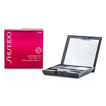 Shiseido Trio de sombras Luminizing Satin - # GY901 Snow Shadow  3g/0.1oz