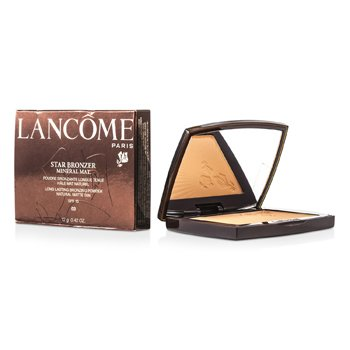 Lancome Star Bronzer Polvos Bronceadores Minerales Larga Duración SFP15 ( Natural Matte Tan ) - # 03 Naturel Bronze  12g/0.42oz