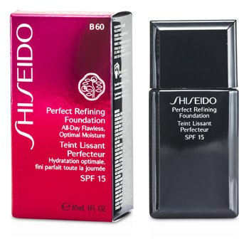 Shiseido Perfect Refining Base Maquillaje SPF15 - # B60 Natural Deep Beige  30ml/1oz